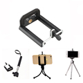 Adjustable Camera Stand Clip Bracket Holder Monopod Use For iPhone 7 7Plus 6 6s Plus 5s