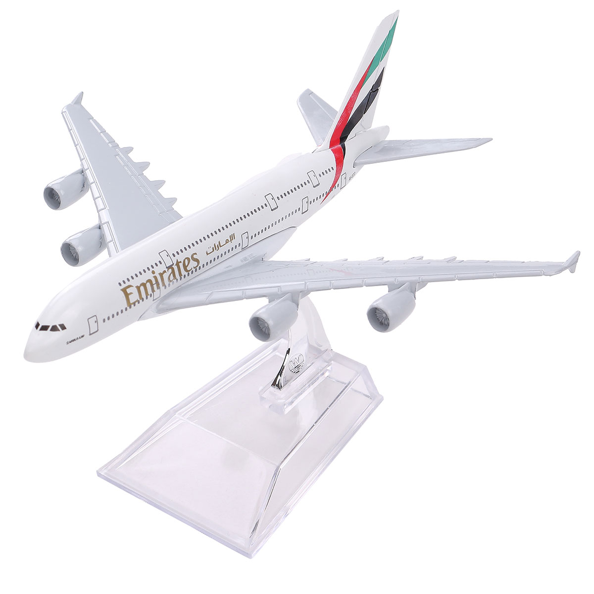 New Airbus380 Emirates Airlines A-380 Aircraft Aeroplan 16cm High Simulation Diecast Model United Arab Emirates A380(China (Mainland))