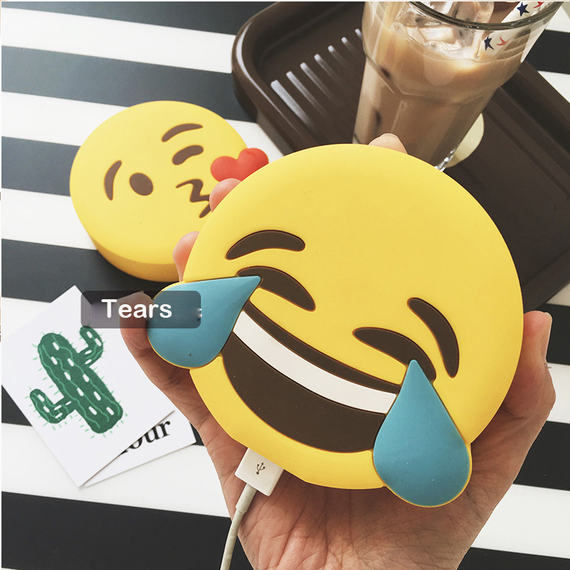 GOESTIME 2000mAh Power Bank Originality Charge Treasure Emoji Mobile Power Charge Treasure Soft For 6s For SAMUNG Cartoon(China (Mainland))