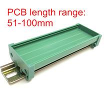 UM50  PCB length: 51-100mm profile panel mounting base PCB housing PCB DIN Rail mounting adapter(China (Mainland))