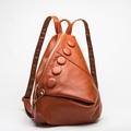 2017 Fashion Designer Small Genuine Leather Backpack Women Travel Backpack Korean Kawaii Female Backpack Girls Bagpack
