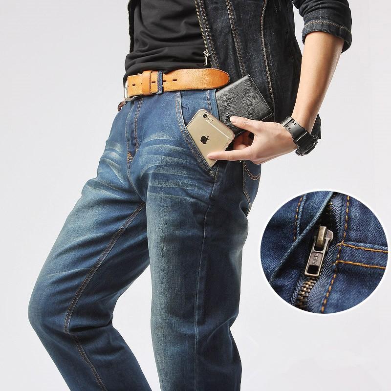 HTB11nIENpXXXXaXXFXXq6xXFXXXs - Mr.marke Brand Jeans Men's Clothing 75% Cotton Loose Elasticity Zipper 2016 New Straight Mens jeans Big Size 29-40 42
