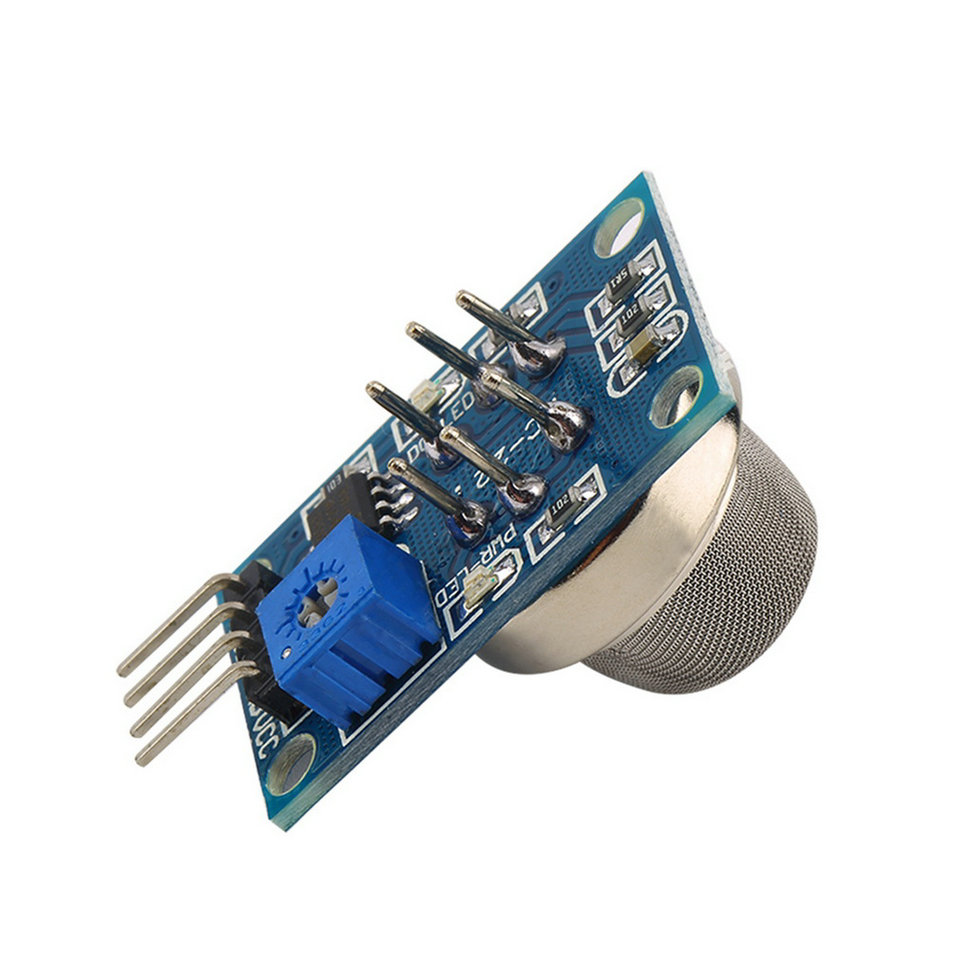 Гаджет  1pcs Hot Worldwide MQ-2 MQ2 Smoke Gas LPG Butane Hydrogen Gas Sensor Detector Module For Arduino None Электронные компоненты и материалы