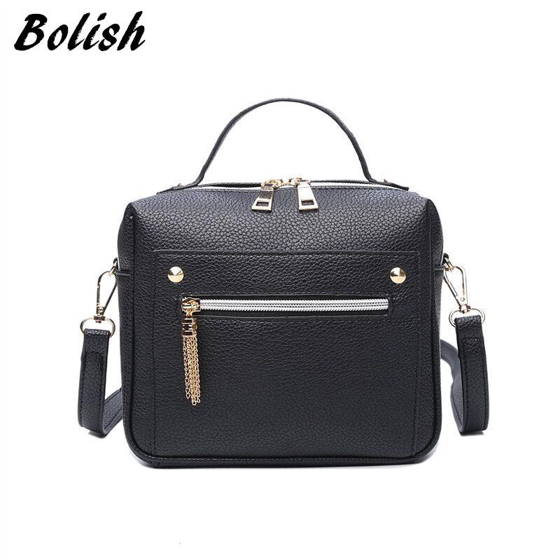 High Quality PU Leather Women Top-handle Bag Small Women Messenger Bag Girls Shoulder Bag Fashion Women Bags(China (Mainland))