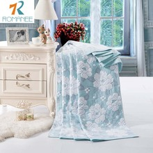 Romanee New Fashion China cotton towel Blankets for beds Bath Peony 1pcs Bedspread Bedding set Quilt Sheet Sofa Travel wholesal(China (Mainland))