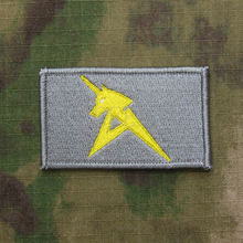 100%Embroidery Gundam gray AMURO RAY 0093 Military Tactical Morale Embroidery Patch Badges B3122
