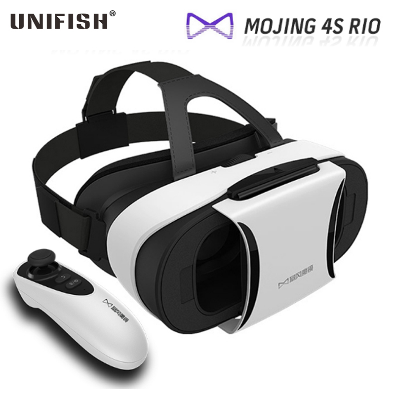 """Baofeng Mojing 4S Rio Google Cardboard Virtual Reality VR Mobile Phone 3D Glasses with Control Headset for 4.7""""-5.7"""" Smartphone(China (Mainland))"""