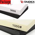 TAIDEA 3000 Grit 1000 Grit Knife sharpener corundum whetstone Oilstone and Honing Stone Knife Sharpening System