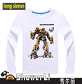 Cotton full long children t shirts, cute cartoon,game boys girls figure kids wear toy super hero star war