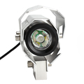 Spotlights Motorcycle Headlight U8 LED High Low Flash Beam Head Light Lamp Motorbike Waterproof HP