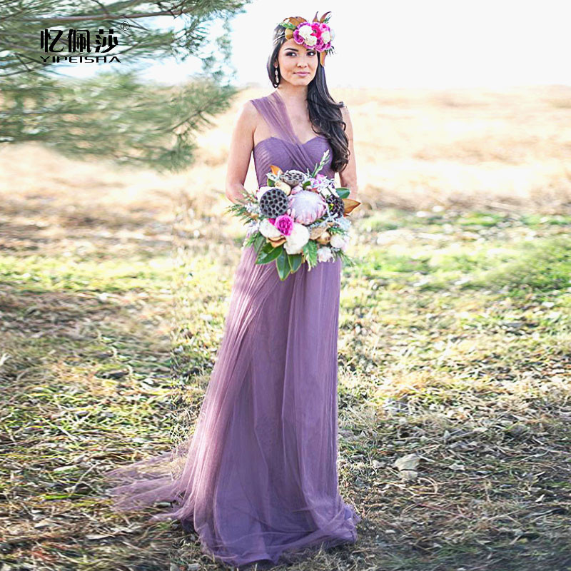 Buy 2016 convertible bridesmaid dresses for Lilac dress for wedding