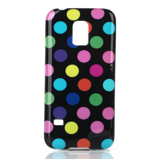 Samsung Galaxy S5 Mini S5mini N800 Case 4.5inch Fashion Style Colourful Polka Dot Dots TPU Cover Cases - dreamwork`s store