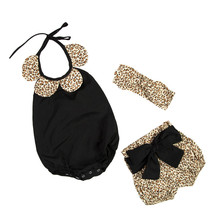 toddler cheetah girls clothes ,collared baby outfit ,animal printed baby girls romper ruffle short set ,newborn birthday