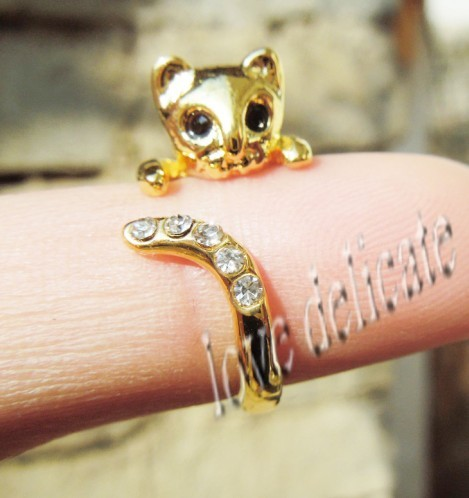 Cat Engagement Ring For Sale
