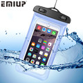 Universal Waterproof Case for iPhone 5s 5 Phone Bags Pouch with Strap for iPhone 6 6S