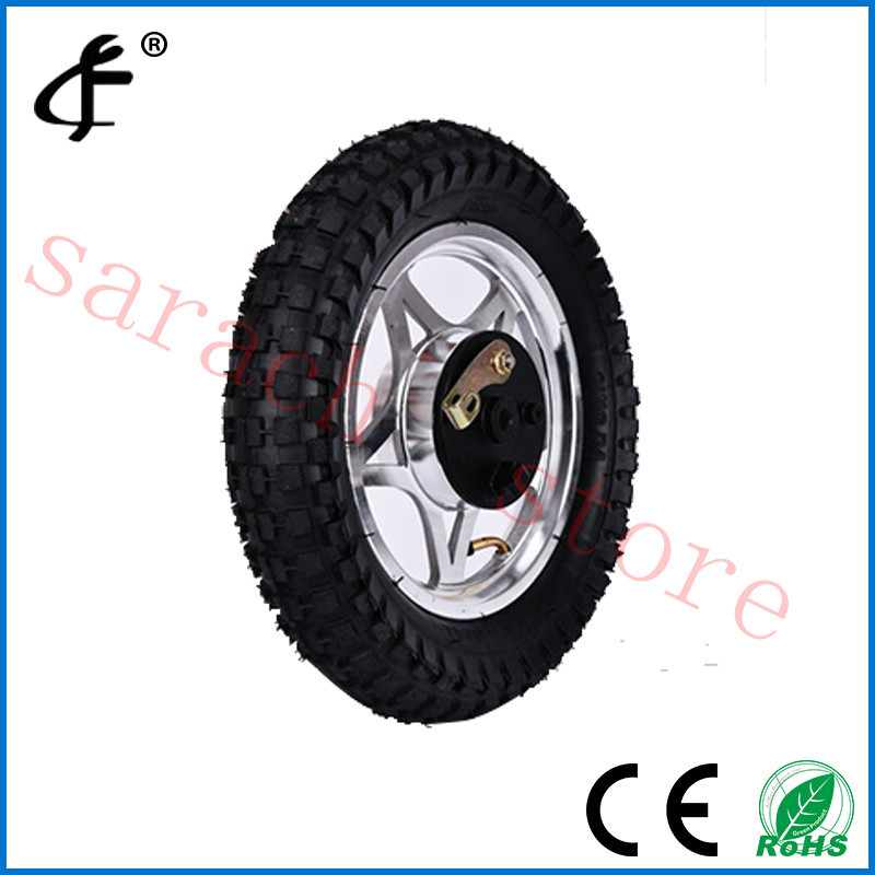 12 electric scooter front wheel electric hub motor wheel for Scooter hub motor kit