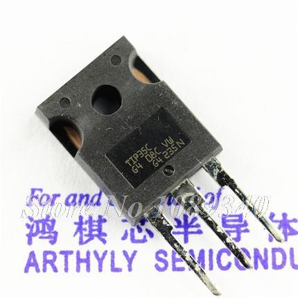 Гаджет  10PCS free shipping 100% new original TIP35C TO-247 100V/25A/125W NPN power transistor None Электронные компоненты и материалы