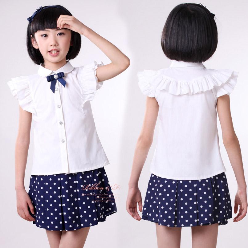 Блузка для девочек 2016 6 8
