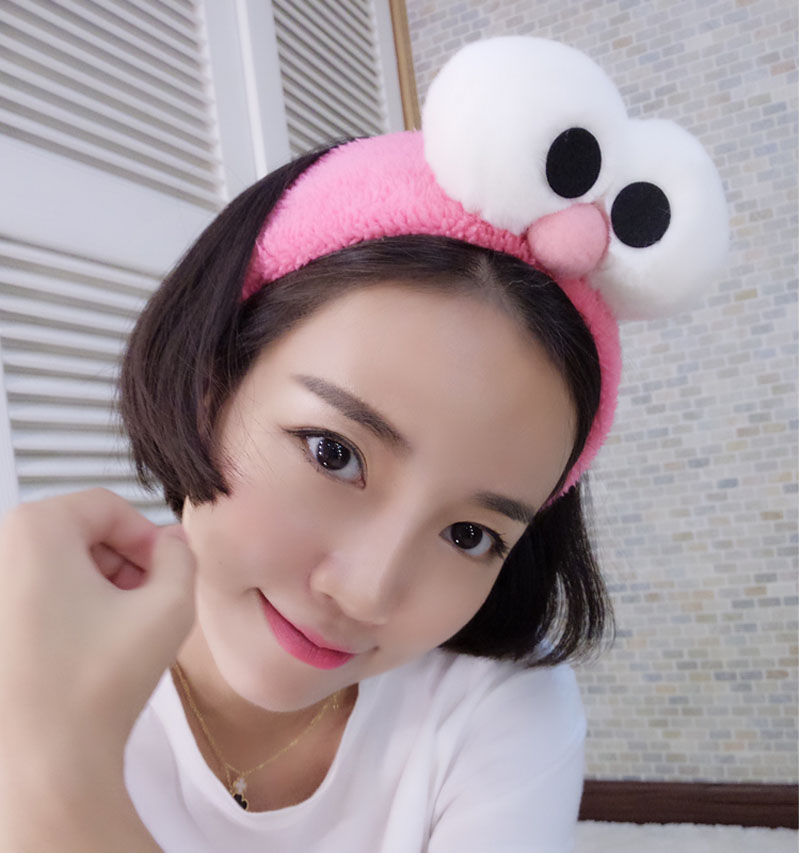 Big eyes sesame street parent-child hair band elastic headband straps(China (Mainland))
