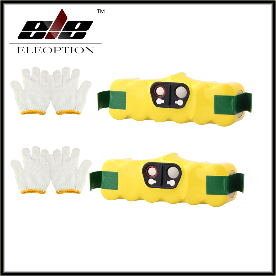 Ele 2pcs 3500mAh Rechargeable Battery for i robot aspirador roomba Battery 500 510 530 560 570 581 610 650 780 760 770 Robotics(China (Mainland))
