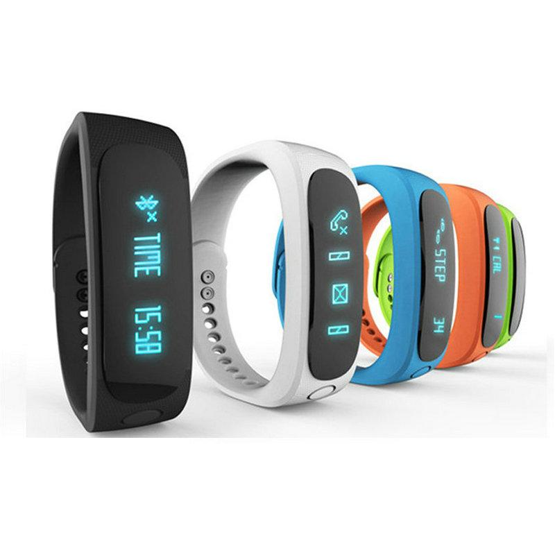 2015 New Smart Band E02 Pulsera Smartband Waterproof Fitness Wristband Bracelet Sports Gear Fit Android IOS - Shenzhen Wealiked Co., Ltd store