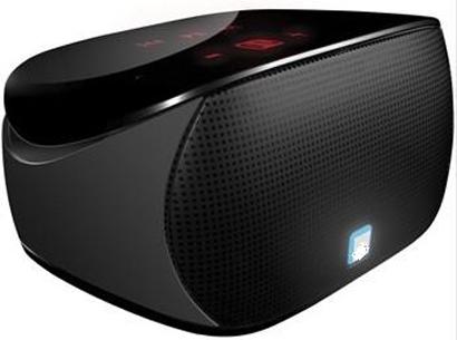 Myshine CPSDBT005 Black Mini Boombox Bluetooth Speaker for iPAD / iPhone / iPod