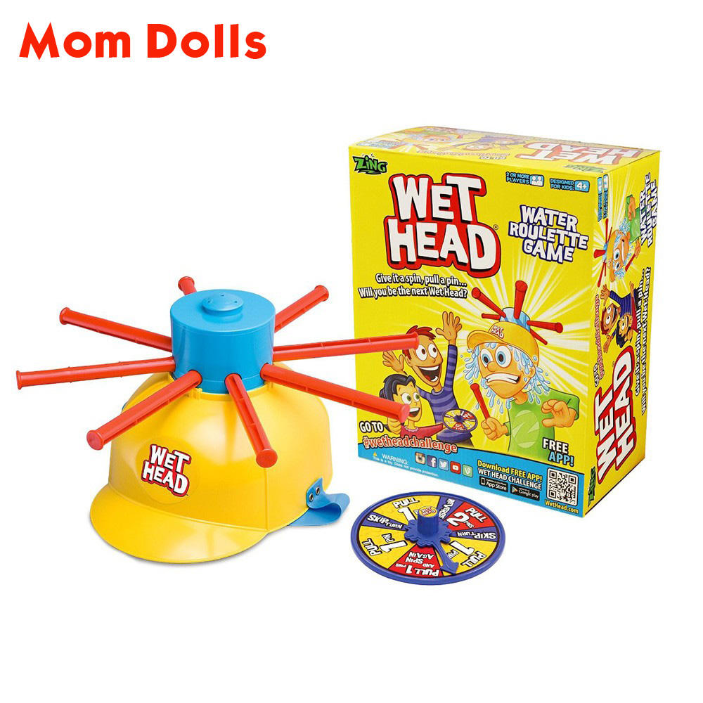 Funny Wet Head Game Wet Hat water challenge Jokes&Funny Toys Water Roulette game Kid Toys Halloween toy joke novelty toy(China (Mainland))