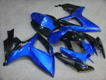 Buy Motorcycle Fairing kit SUZUKI GSXR600 750 K6 06 07 GSXR 600 GSXR 750 2006 2007 ABS New blue black Fairings set+7gifts SC43 for $345.96 in AliExpress store