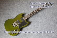 New Arrival China Metallic Green Finish Tony Lommi SG Guitars With Chrome Floyd Rose Tremolo For Sale(China (Mainland))