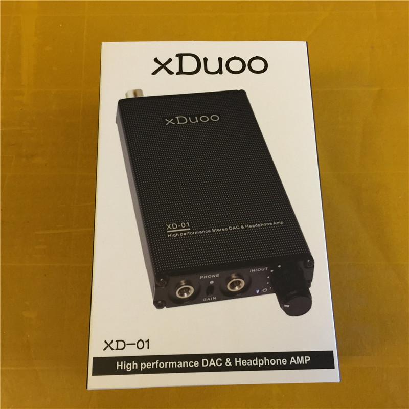 XDUOO XD-01 USB / Optical / Coaxial DAC+Headphone AMP l Portable Headphone Amplifier 24bit/192KHz Headphone Amplifier