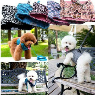 Oxford Cloth Dog Collar Vest Dogs Necklace Harness Lead Puppy Rope Leash Safety Belt Pet Supplies Decor accessories arnes perro(China (Mainland))