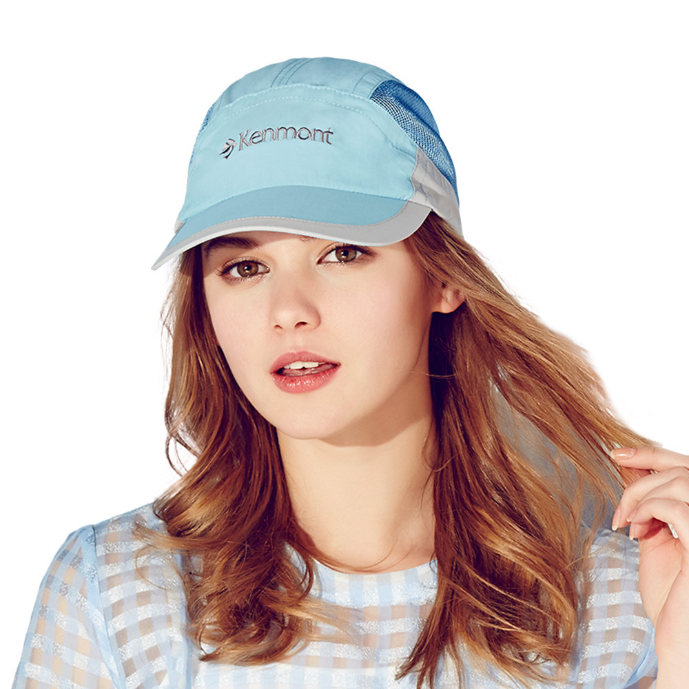 Brand Kenmont Spring Summer Women's Baseball Cap Outdoor Sports Sun Unti-UV Quick-dry Hat Visor Running Golf Tennis Caps 3109(China (Mainland))