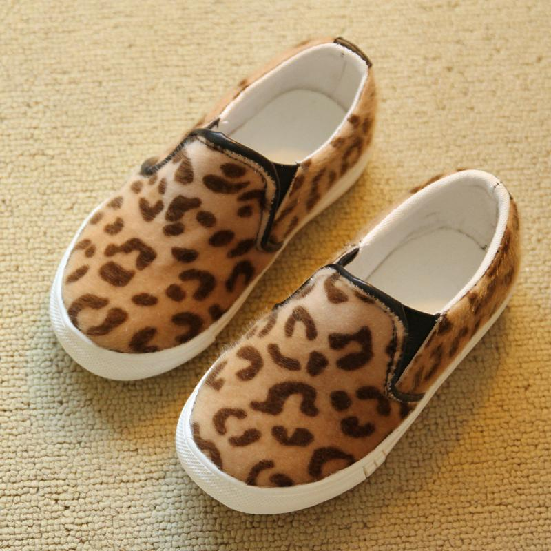 2015 Children Shoes Korean Boys Girls Fashion Sneakers Leopard Print Flat Rubber Kids Babys Size 26-37 F151 - Hangzhou Dolda Tech. Co., Ltd. store