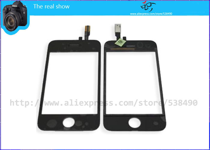 Free shipping For iPhone 3GS Touch Screen Digitizer Brand New and High Quality(China (Mainland))