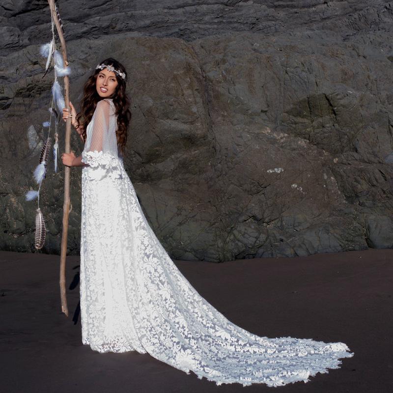 Hippie hochzeit kleid kaufen billighippie hochzeit kleid for Hippie brautkleid online shop