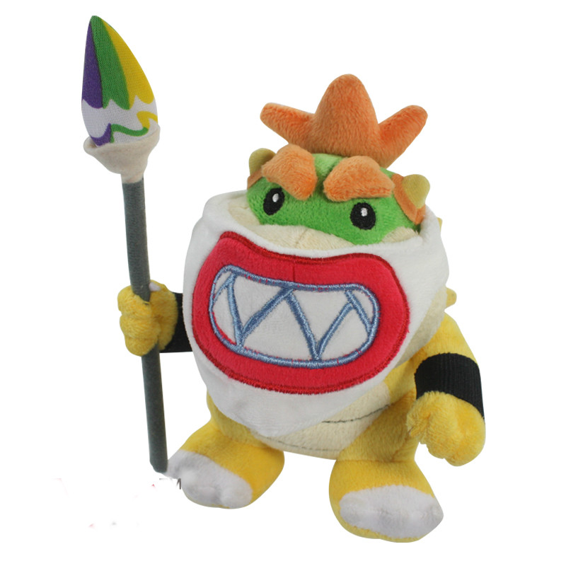 New 2016 year Super supermario plush toy series doll 18cm Super Mario plush toys Bowser dragon doll Brothers Bowser retail(China (Mainland))