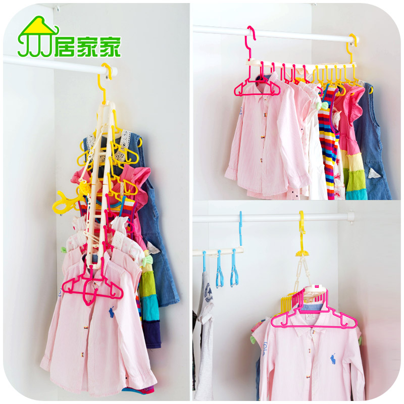 10 Clothes Pegs Clothing Clips Folding Adult Child Slip-resistant Hanger Windproof Plastic Baby PP Racks(China (Mainland))