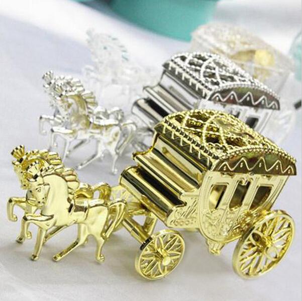 Cinderella Carriage Favor Boxes : Free shipping pcs cinderella carriage wedding favor boxes