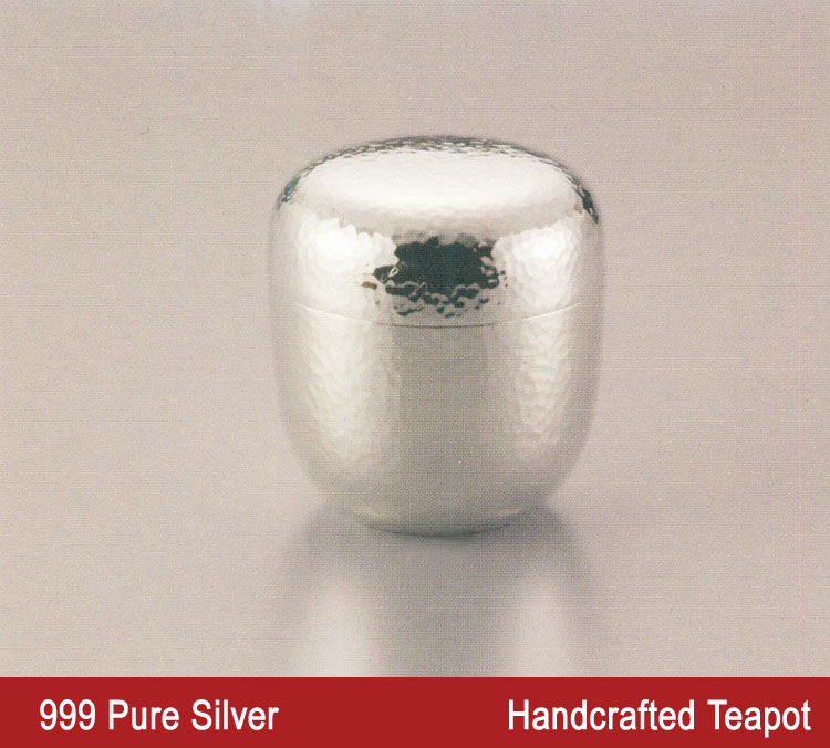 Buy 190g 999 Sterling Silver Tea Caddy