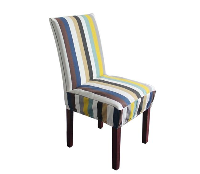Alta calidad 100 algod n tela de la silla de comedor for Sillas de tela comedor