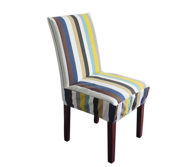 High Quality 100% cotton Stripe Fabric Dining Chair Cover Chair Coat(China (Mainland))