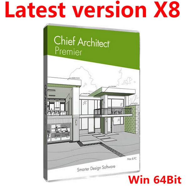 Latest Version Chief Architect Premier X8 For Win 64Bit English Version