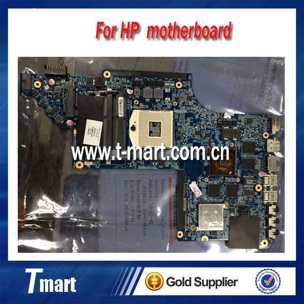 for hp DV7 DV7-6000 655489-001 laptop motherboard for intel cpu with 8 video chips non-Integrated working well and full tested<br><br>Aliexpress