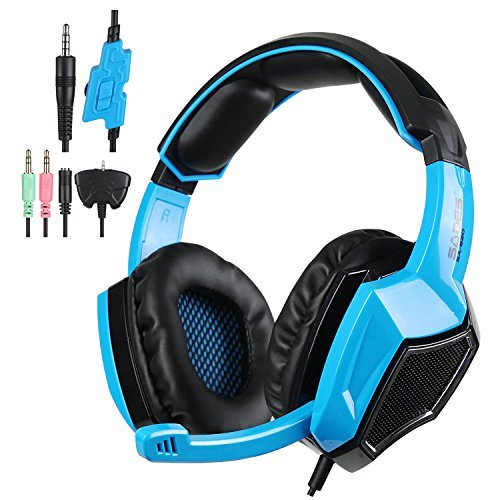 Hot selling SA920 5 in 1 Stereo Gaming Headset Headphones with Microphone for PS4 Xbox360 PC Free Shipping With Retail Box(China (Mainland))