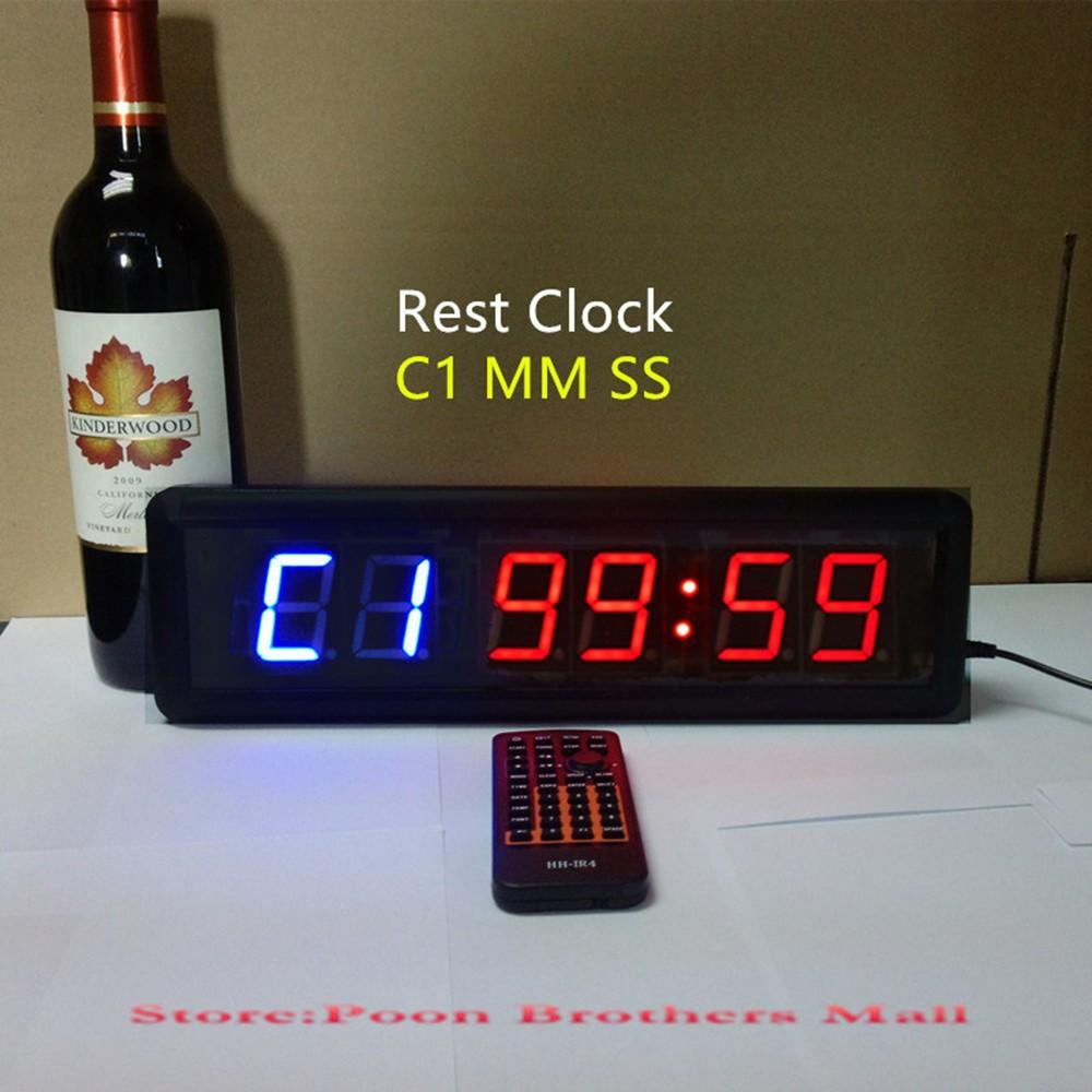 Locks wall clocks tabata hiit fitness equipment gym crossfit