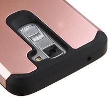 For LG Various Phone Case, Slim Hybrid Dual Layers ShockProof Defender Armor Rubber Case For LG K8 K7 K4 K520 K10 G5 H740 Class