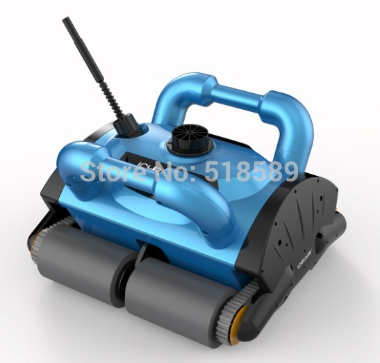 Robotic pool cleaner ith 15m cable swimming pool robot vacuum cleaner pool cleaning equipment for Swimming pool cleaning machine