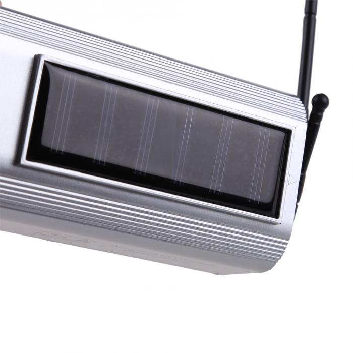 Top Sell Solar Power Fake Dummy Outdoor Security Home CCTV Camera Flashing LED light FC