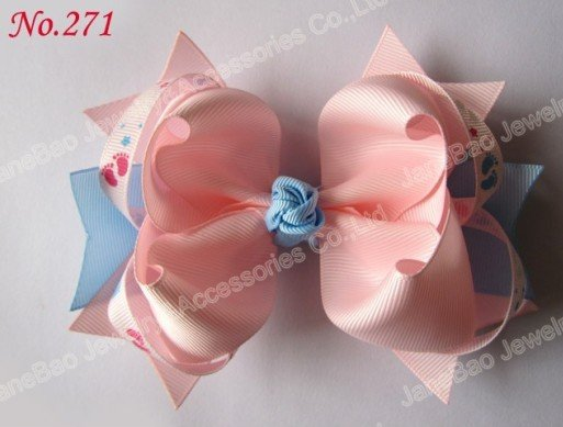free shipping 62pcs 5.5'' big ring hair bows girl ...