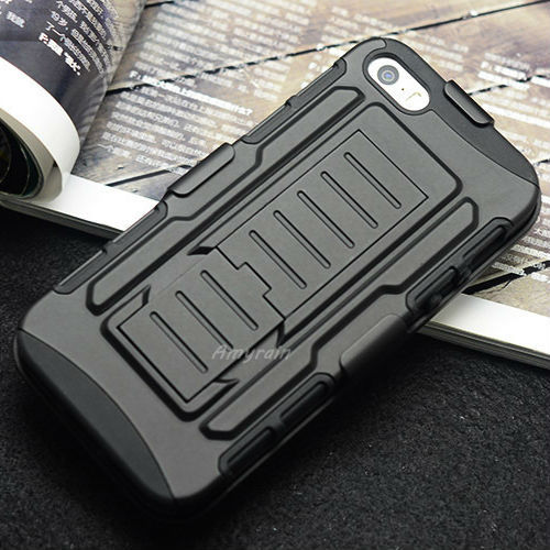 2014 new 4 1 Future Armor Combo Impact Heavy Duty Case Cover Apple IPhone 6 4.7 inch Bags Belt Clip Holster Kickstand - Amyrainy Store store